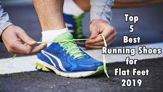 Top 5 Best Running Shoes for Flat Feet 2019