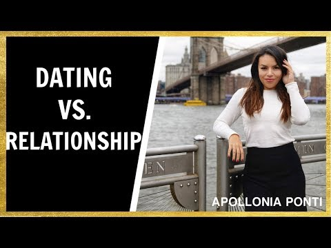 Dating Vs. Relationships | How To Turn Dating Into A Relationship!