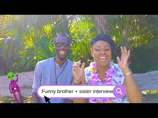 Meet My Brother | Sibling Tag | Meet My Brother Q&A | Funny Video | This Bahamian Gyal