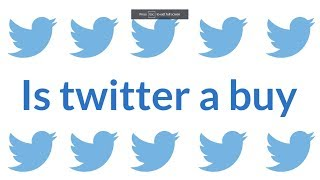 Twitter STOCK AFTER EARNING REPORTS. (I bough at 30.40)