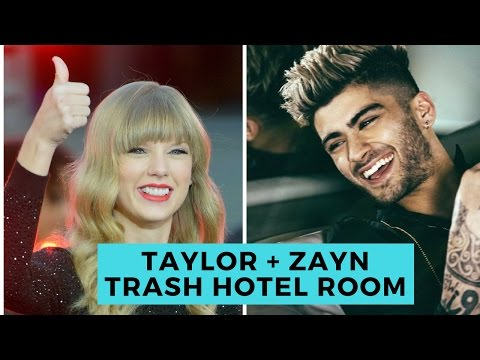 Taylor Swift and Zayn Malik Trash Hotel Room!...