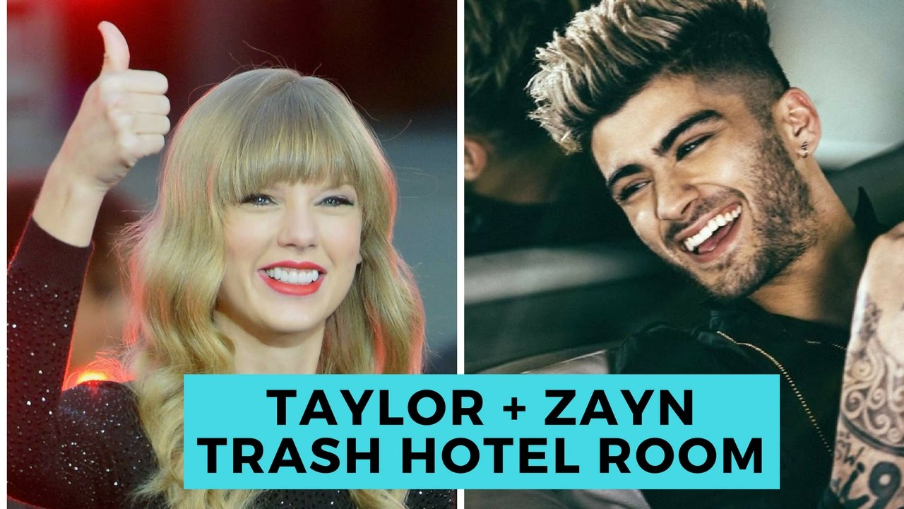 Taylor Swift and Zayn Malik Trash Hotel Room! (Details) | Hollywire