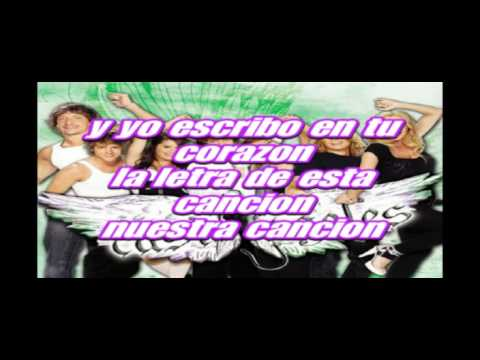 Casi Ángeles - Para Vos - Karaoke/Instrumental - HQ OFFICIAL + Lyrics osn screen + Downland FREE