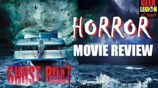 GHOST BOAT aka ALARMED ( 2015 Jennifer Stuckert ) Horror Movie Review