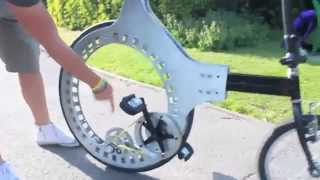 Tech Lunartic Hubless Wheel Prototype 2015