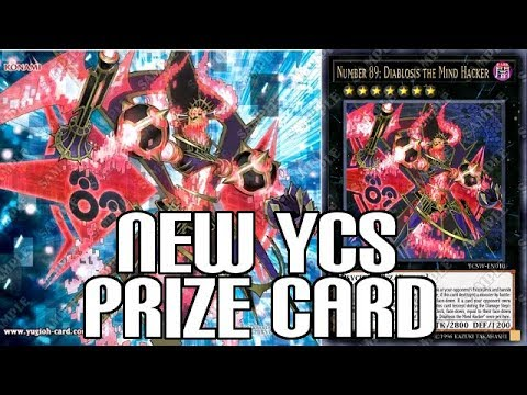 New YCS Prize Card Number 89 Diablosis the Mind Hacker - RIP Number Hunters