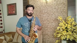 #347:- So Gaya Yeh Jahan | Tezaab | Saxophone Cover by Suhel Saxophonist in Delhi