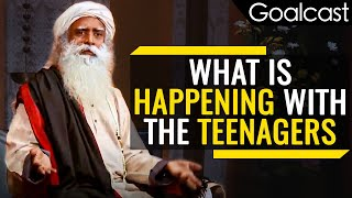 How To Deal With Your Kids And Teenagers | Sadghuru | Goalcast