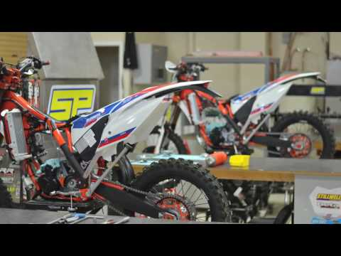 SP Custom Builds: Matching 2016 KTM300XC-W's (Six Days Editions)