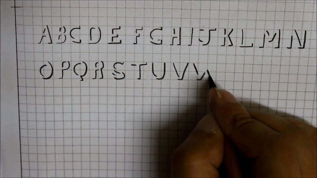 shadow writing