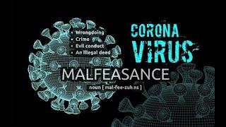 Malfeasance and COVID19, Professor Dolores Cahill.