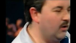 Sid Waddell distracts Phil Taylor's 9 Dart Attempt - 1998 PDC World Grand Prix thumbnail
