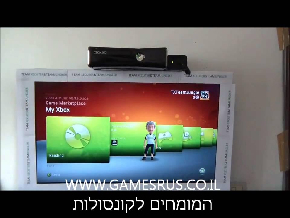 ענק XBOX 360 SLIM פרוץ קורא צרובים - YouTube WY-77