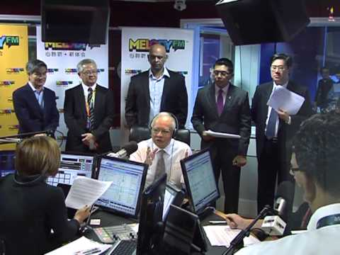 Najib Razak : Melody FM Radio Interview