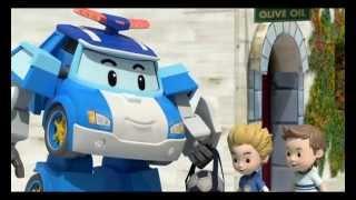 Робокар Поли - Правила дорожного движения - Как играть в мяч (мультфильм 8)