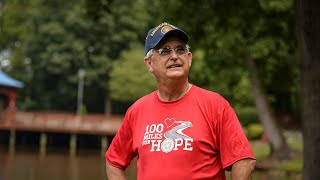 American Legion National Commander starts 100-mile journey
