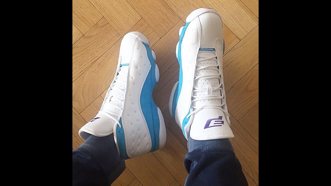 new product 5fa1b 46601 Air Jordan 13 Chris Paul PE HOME CW Unboxing