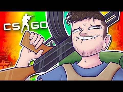 THE DONGERLORD IS YELLING AT US! - CSGO Funny Moments with The Crew!