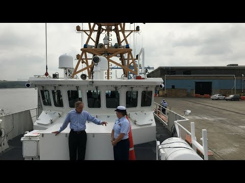 An inside look at a new Coast Guard cutter