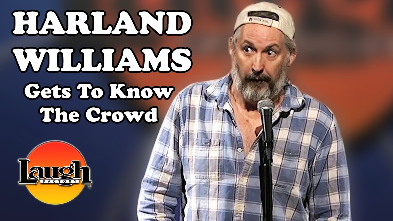 Harland Williams gets to know the crowd. - YouTube