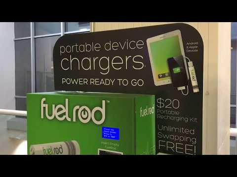 Fuel Rod Charger Kiosk Minneapolis-Saint Paul Intl Airport T1 9-3-17