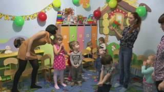 Музыкальный урок в детском садике