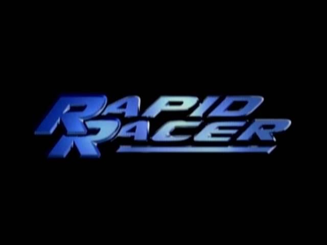 Main Menu - Rapid Racer (PS1)