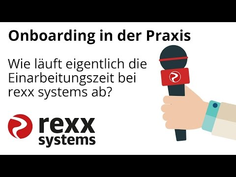 Onboarding bei rexx systems