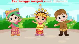Lagu Aku Anak Indonesia | Tasya Kamila - Lagu Anak Indonesia