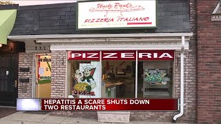 Two metro Detroit restaurants investigated for cases of Hepatitis A