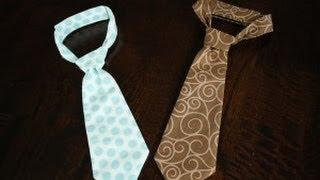 Как сшить детский галстук