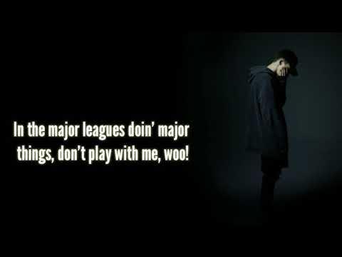 NF - No Name Lyrics on screen