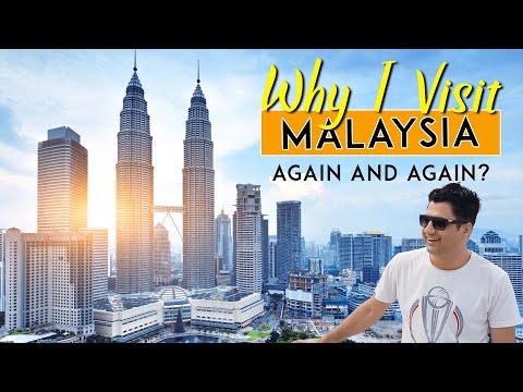 Why I visit Malaysia again and again?
