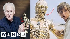 Every C-3PO Costume Explained By Anthony Daniels | WIRED