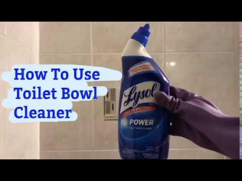 Lysol toilet bowl cleaner (1998) | Doovi
