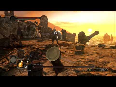 Dark Souls 2 - The Pursuer (Boss Fight)