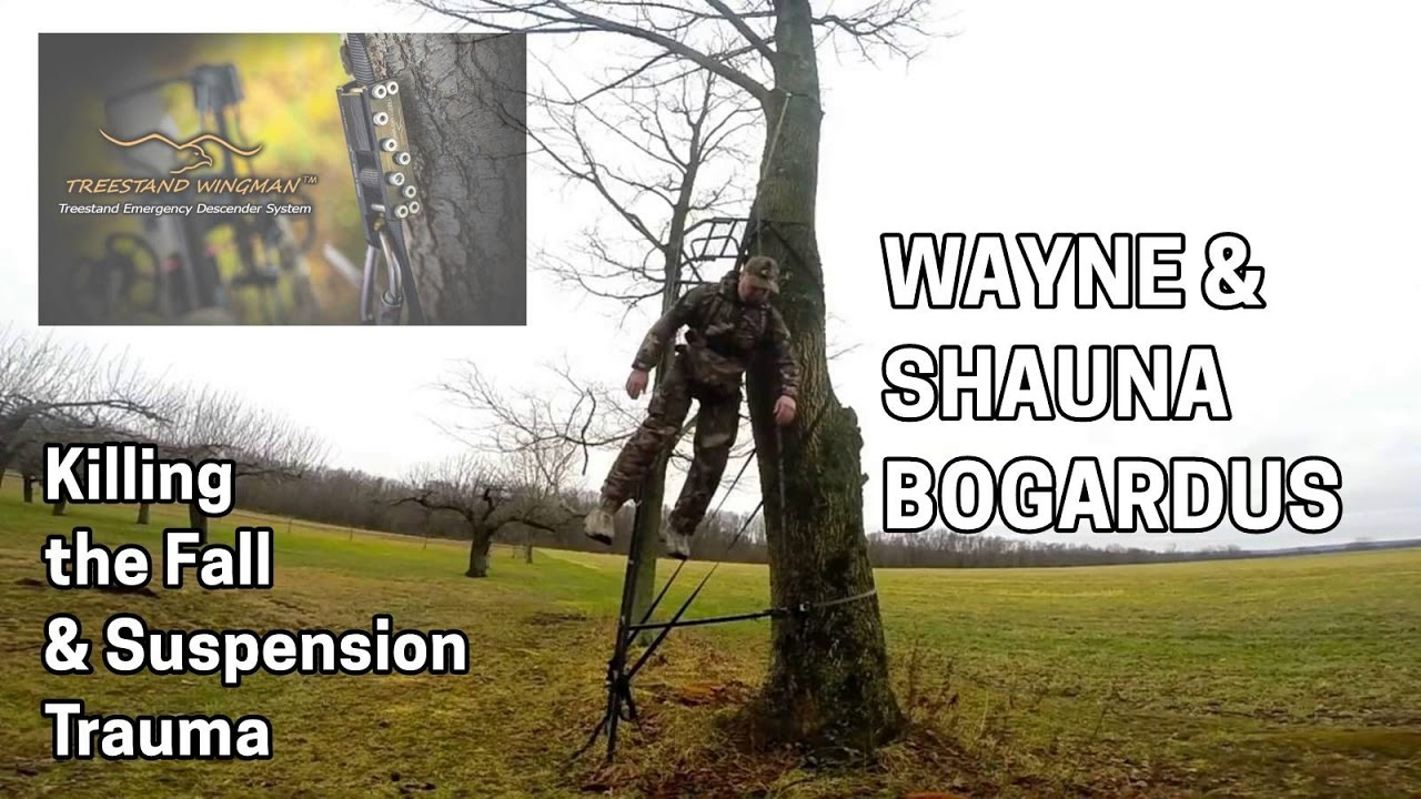 Wingman Tree Stand Safety Harness Device Treestand Emergency Descender System