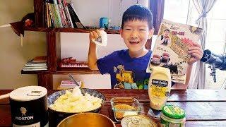[엄마랑쿡방] 삼각김밥 참치마요 만들기 꿀잼 [Tige…