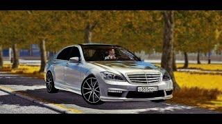 City Car Driving 1.5.5 - Mercedes-Benz S65 AMG W221 V12   Custom SOUND + LINK   1080p & G27