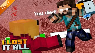 I LOST EVERYTHING 😥 | Truly Bedrock Season 1 [92] | Minecraft Bedrock Edition 1.14 SMP