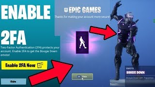 HOW TO GETCLAIM BOOGIE DOWN DANCE EMOTE FOR FREE FORTNITE BATTLE ROYALE