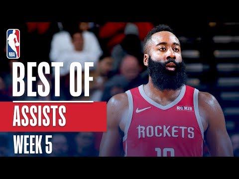 NBA's Best Assists | Week 5 | State Farm
