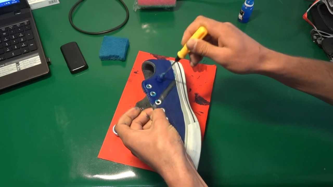 Аэрозоль-краска для замши, велюра и нубука Твист - YouTube