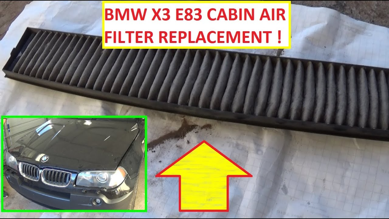 04 Bmw X3 Fuel Filter 2008 Wire Diagrams Z3 Location 160000 Mile Cabin What It Looks Like Air 1990