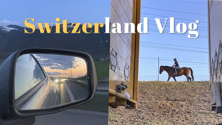 eng)스위스 Vlog🇨🇭생모리츠#1 차를 기차에 싣고 알프스 지나기🚙+🚂 | 생모리츠 할머니네서 부활절 휴가🐣 | 5시간 로드트립 | 스위스 일상 브이로그 | 국제커플