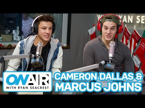 Cameron Dallas and Marcus Johns Talk First Kisses | On Air with Ryan Seacrest