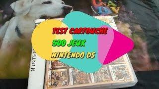 TEST CARTOUCHE NINTENDO DS 500 JEUX WISH HIGH TEST 21
