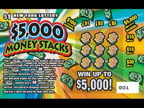 $1 - $5,000 MONEY STACKS - BRAND NEW Lottery WIN! Scratching Scratch Off instant tickets WIN ...