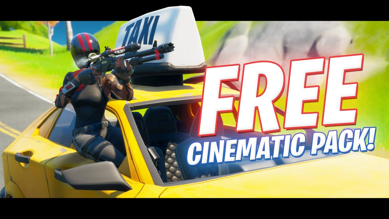 NEW Cars Cinematic Pack - (Fortnite JOY Ride Update)