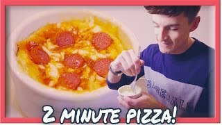 2 MINUTE PIZZA IN A MUG! 🍕 | Doug Armstrong